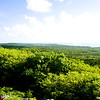 View of landscape from Mount Alvernia, Cat Island, Bahama