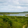Landscape view of Great Lake  on Cat Island, Bahama