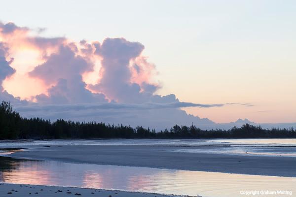Lucayan National Park at sunrise Grand Bahama