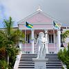 Statue of Christopher Columbus in Nassau, Bahama