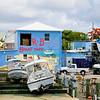 Spanish Wells Harbour scene, Bahama