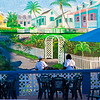Mural at Ocean Ref Yacht Club, Grand Bahama Grand Bahama
