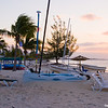 Early morning on Grand Bahama beach