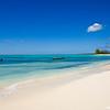Beach scene on Cat Island, Bahama