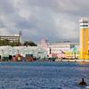 Near the cruise line terminal in Nassau, Bahama