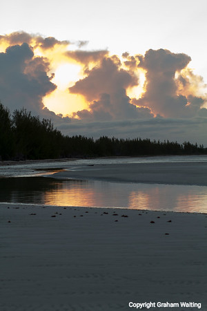 Lucayan National Park at sunrise Grand Bahama