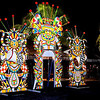 Junkanoo cut outs in Bahamas