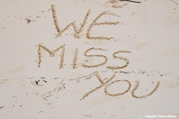 We miss you Grand Bahama