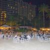 Evening at the Wyndham Hotel, beach, Nassau