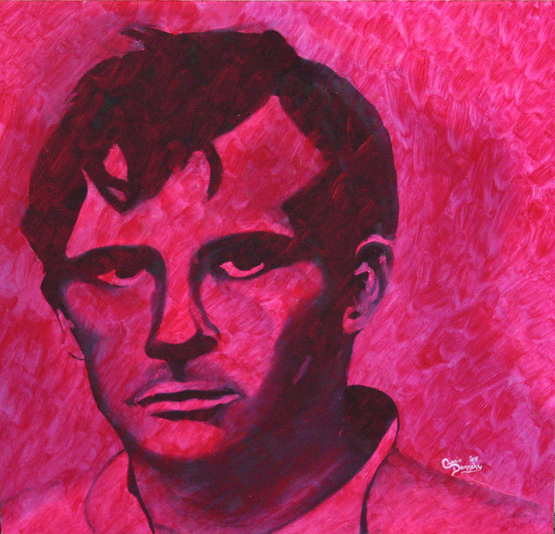 "03/2007  ""Portrait of Kerouac as the Author""<br /> I've always had a love for Kerouac and his writing.  This portrait was done to show the loss of the man behind the strokes of his work."
