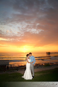 Scripps Seaside Forum Sunset Wedding