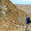 Steep, rugged terrain