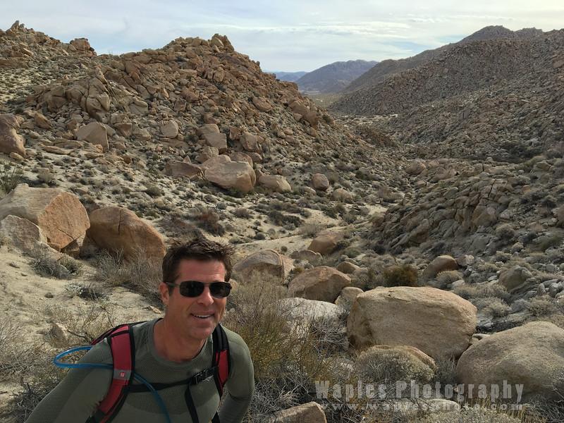Dan hiking again!