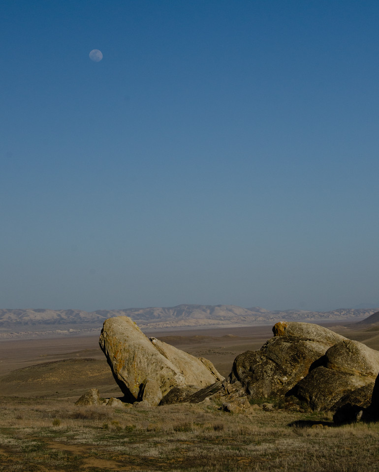 Moonrise, Carrizo Plains NM
