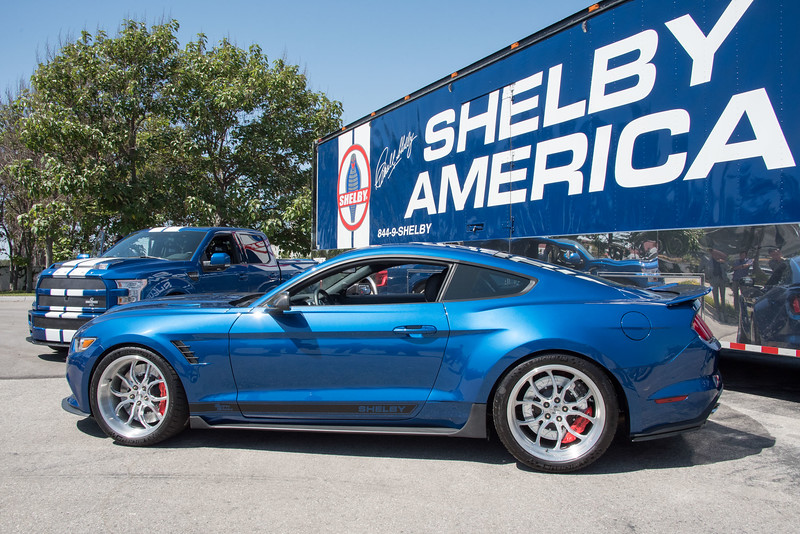 Shelby Super Snake and Pickup Unveiling