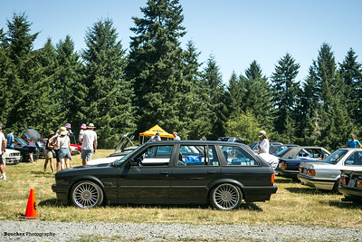 Hot day for sure , but well worth seeign old friends and cool E30's