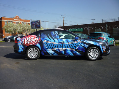 SkinzWraps Dallas Mavericks Car Wraps