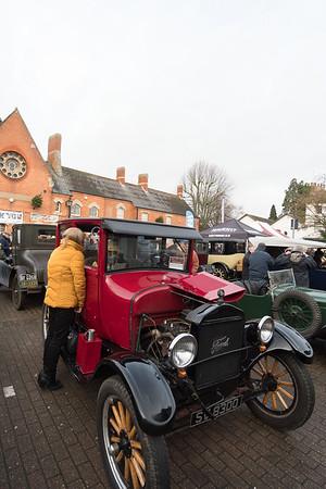 Cars At Stony Stratford
