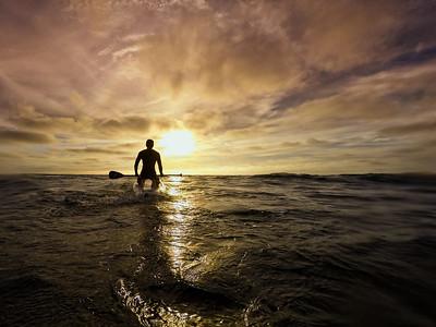 Sunset SUP