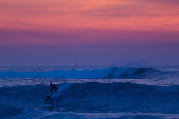 Wintry California Evening