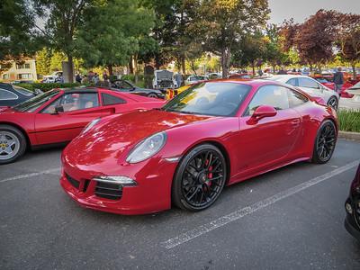Carmine Red 991 GTS