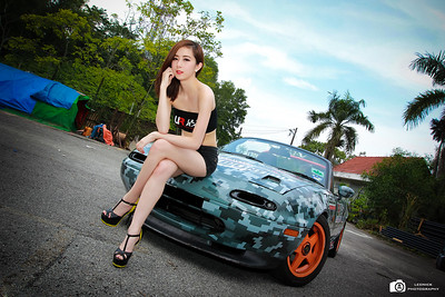 Mazda MX5 With Poly Pang