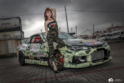 Nissan S15 With MiKo Wong