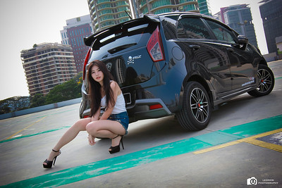 Proton Iriz With Lavella Angel