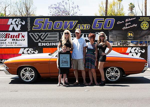 2014 Riverside Show & Go - Awards