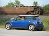 43. Picture of your MINI with a train 15 pts