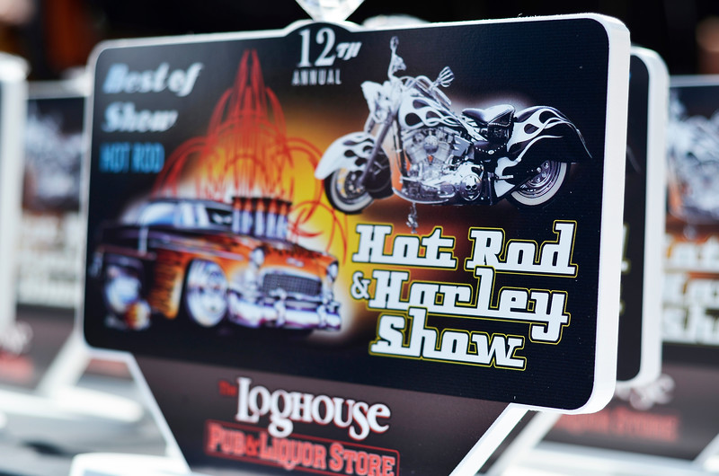 Hot Rods and Harleys, Langford BC September 8, 2012 - Loghouse Pub