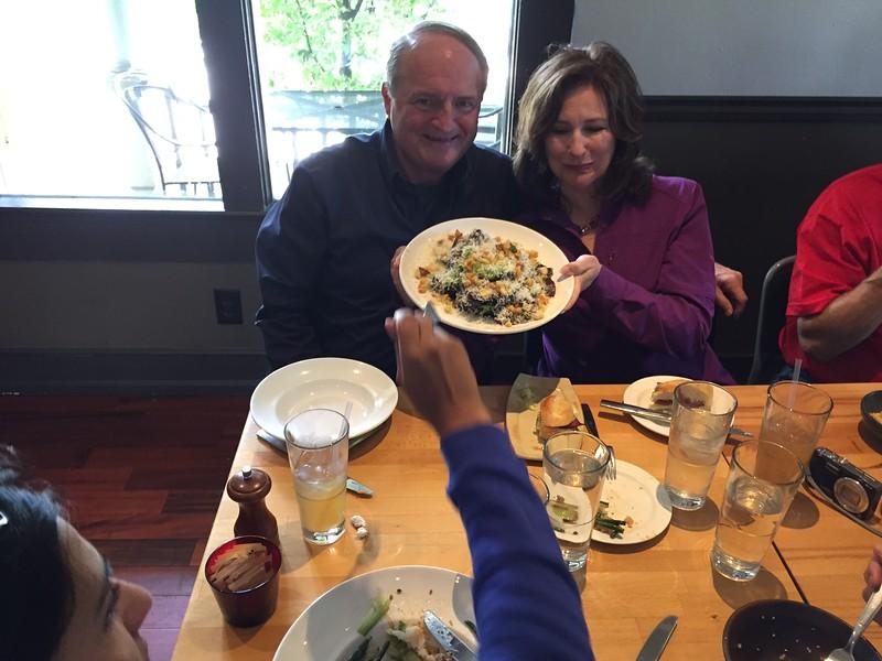 Tim shares his Caesar salad