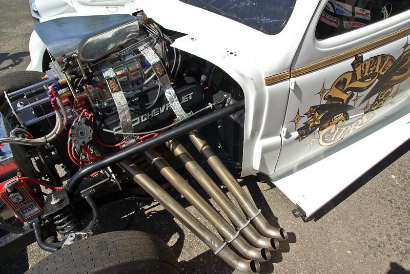 Chevrolet Chevy Coupe, V8 compressé au méthanol 1500ch