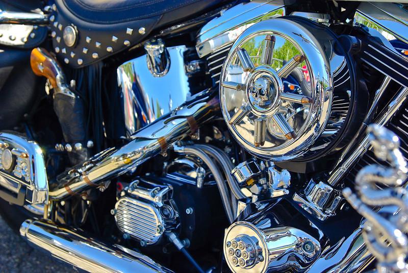 Lucky Luke motorcycle . . .