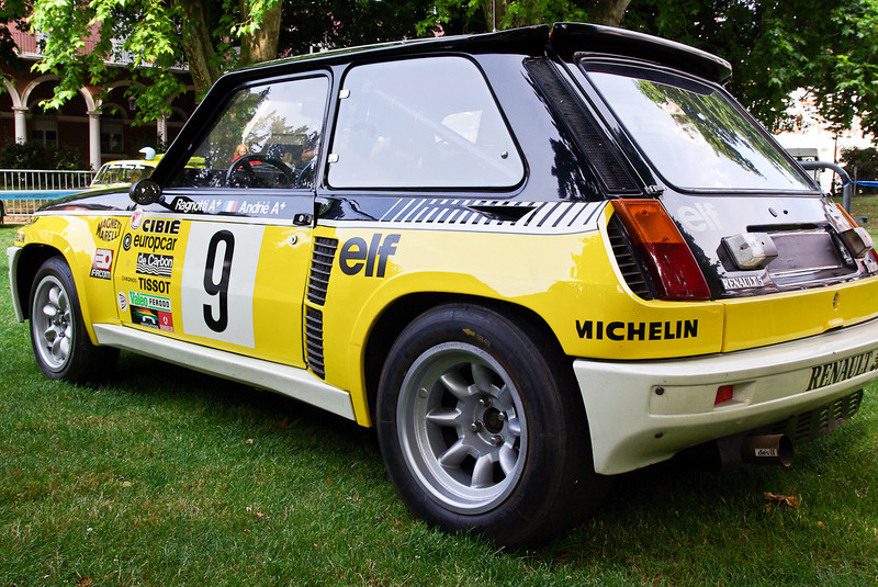 The legendary Renault 5 Turbo Jean Ragnotti