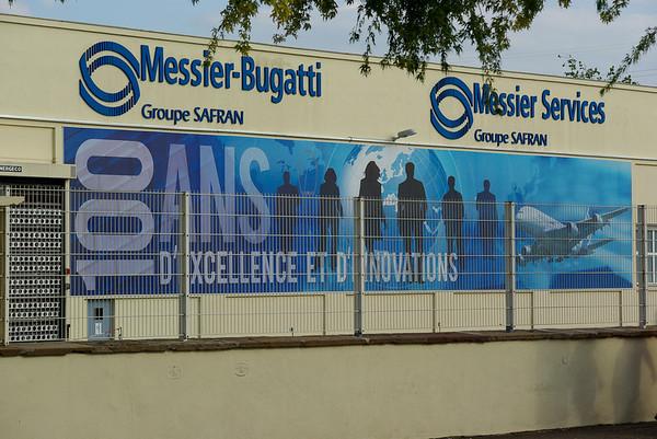L'usine Bugatti de Molsheim