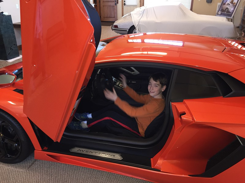 Alex likes the way the new Aventador drives