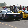 Maserati MC12 & Ferrari Enzo<br /> About to enter track for photo opps.