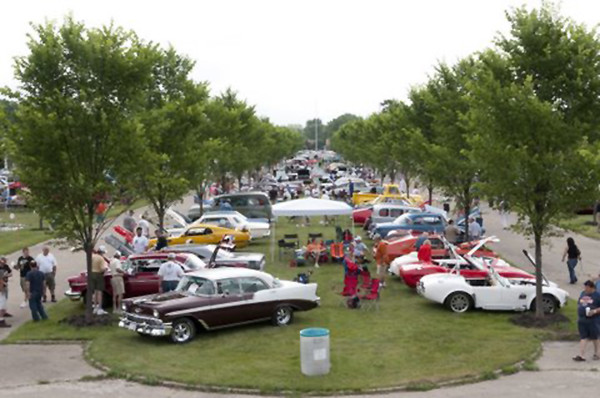Classic cars on display at the Packard Proving Ground in Mount Clemens. <br /> Tony Lafferty
