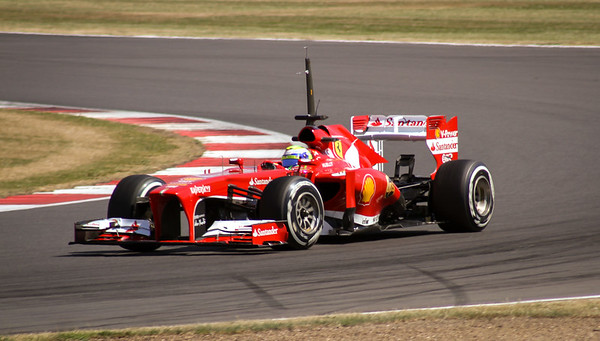 Massa / Ferrari at the Silverstone Young Driver Test