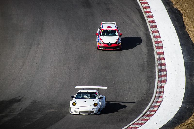 A Porsche & A Clio