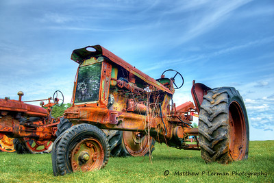 Antique Rusty Tractor #737