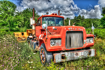Mack Truck in Berlin, NY    #751