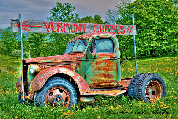 Cheese Truck Spring   Londonderry, VT  #621