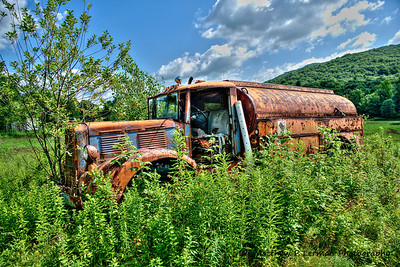 Antique Brockway Tanker Truck     Berlin, NY  #734
