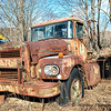 Rusty and abandoned Brockway Truck    #1061