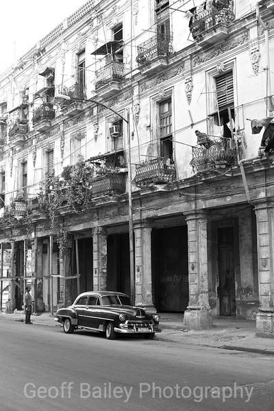 Classic Automobile B&W