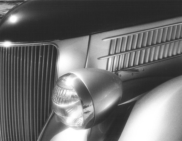 1936 Ford Cabriolet, detail