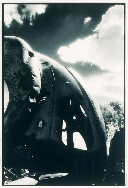 Commemorative near Sedillo Hill on old Hwy. 66