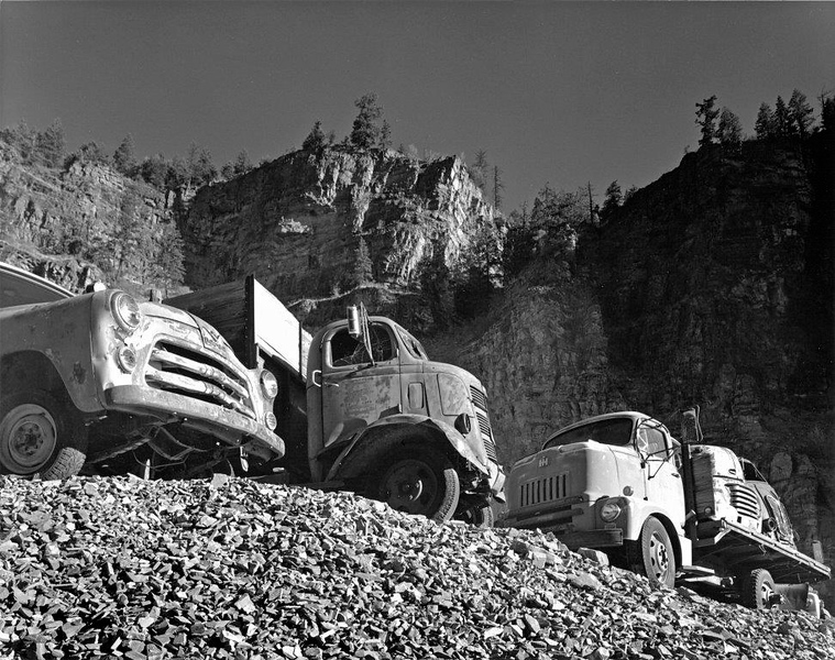 Trucks at Sunrise